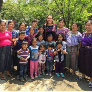 Giovanna in Quatemala with friends